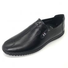 Giày mọi nam khâu đế da bò cao cấp Lucacy L286D