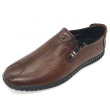 Giày mọi nam khâu đế da bò cao cấp Lucacy L286ND