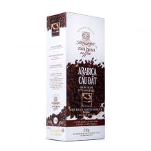 Cà phê pha phin Arabica Cầu Đất hộp 250g