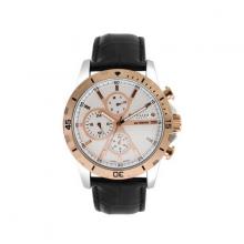 Đồng hồ nam dây da Julius Hàn Quốc JAH-056D Đồng