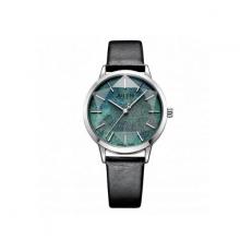 Đồng hồ nữ dây da chính hãng Julius Hàn Quốc JA-977A Đen