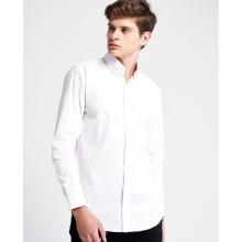 Áo sơ mi nam The Cosmo Jeffrey Shirt màu trắng TC1022079R1WH