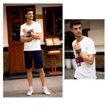 Áo phông nam ngắn tay màu trắng DGC - SAT1904M