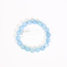 Vòng tay đá aquamarine size hạt 10mm mệnh thủy, mộc - Ngoc Quý Gemstones
