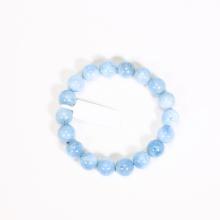 Vòng tay đá aquamarine size hạt 11mm mệnh thủy, mộc - Ngoc Quý Gemstones
