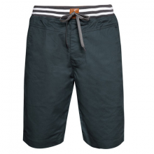 Quần short kaki nam co giãn cao cấp lưng thun bonado - màu xanh đen
