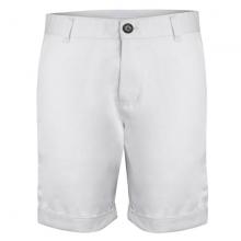 Quần short kaki nam cao cấp lưng thun bonado - màu trắng