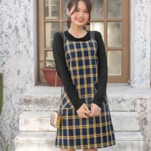 Đầm dây túi đắp Kimi -AD190187