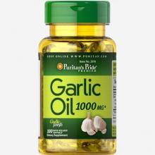 Dầu tỏi tăng cường miễn dịch, tốt cho tim mạch, giảm cholesterol Puritan's Pride Garlic Oil 1000mg (100 viên) HSD 01.2022