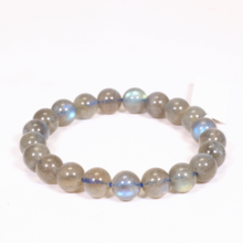 Vòng tay đá xà cừ xám size hạt 8mm - Ngọc Quý Gemstones