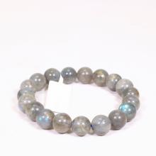 Vòng tay đá xà cừ xám size hạt 10mm - Ngọc Quý Gemstones