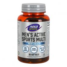 Thực phẩm bổ sung vitamin khoáng chất dành cho nam giới chơi thể thao NOW sport - men's acitve sport (90 viên nang mềm)