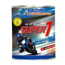 Nhớt xe số BCP super 1 công thức cải tiến - JASO MA2 - 0.8 lít thơm dâu