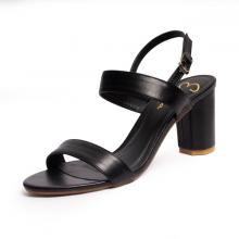 Giày nữ, giày cao gót block heels Erosska thời trang đơn giản tính tế - EM003 (BA)