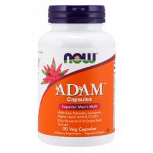 NOW - ADAM™ Men's Multiple Vitamin - bổ Sung vitamin tổng hợp - khoáng chất thiết yếu, dành cho nam giới chai 90 viên