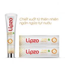 Kem đánh răng thảo dược Lipzo Gum Protect 95gram - ngừa tụt lợi, hôi miệng, viêm họng