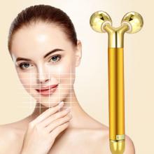 Cây lăn massage gold 24K dòng cao cấp, giúp săn chắc trẻ hóa căng mịn da và tạo dáng mặt V-line