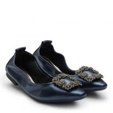 Giày búp bê Pazzion Singapore 3230-3A - DARK BLUE