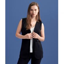 Áo khoác nữ The Cosmo Piper Vest màu đen TC2004034BA
