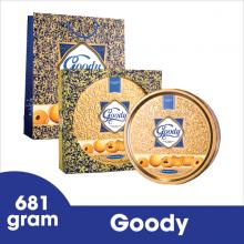 Bánh Goody cao cấp hộp thiếc 681 gram Bibica
