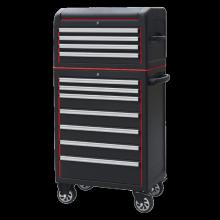 Bộ Tủ dụng cụ nhiều ngăn có bánh xe Kowon KTBT0204 - X KTBR0207-X