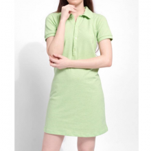 Đầm polo nữ The Cosmo Clarisa Polo Dress màu xanh lá TC2005172R1GE
