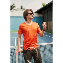 Áo phông nam ngắn tay ( slimfit) màu cam DGC - WAT1819M