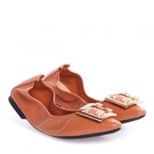 Giày bệt Pazzion 3230-8 - BROWN