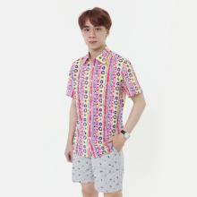 Áo sơ mi nam tay ngắn The Shirts Studio Hàn Quốc 07C2516RE