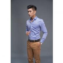 Áo sơ mi nam dài tay (regularfit) màu xanh DGC - SASD1911M