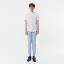 Áo sơ mi nam tay ngắn The Shirts Studio Hàn Quốc 13F2386OR
