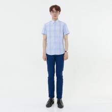 Áo sơ mi nam tay ngắn The Shirts Studio Hàn Quốc 42F2105BL