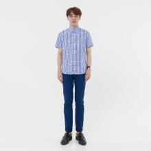 Áo sơ mi nam tay ngắn The Shirts Studio Hàn Quốc 45F6128BL