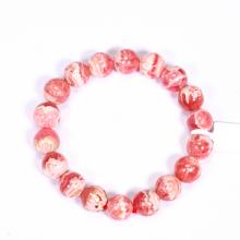 Vòng tay đá đào hoa size hạt 11mm mệnh hỏa, thổ - Ngọc Quý Gemstones
