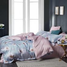 Bộ drap ga gối Lụa Tencel Modal cao cấp Maison Concept mềm mượt FLORAL TM084 (1.8m x 2m)