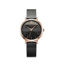 Đồng hồ nữ julius hàn quốc ja-1237d dây thép xám đen