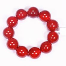 Vòng tay đá mã não đỏ size hạt 20mm mệnh hỏa, thổ - Ngọc Quý Gemstones