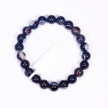 Vòng tay đá mã não mắt rồng size hạt 8mm mệnh thủy, mộc - Ngọc Quý Gemstones