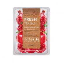 Mặt Nạ Miếng Quả Lựu Giúp Làm Trắng Sáng Da - Tonymoly Fresh To Go Pomegranate  Mask Sheet 22gram