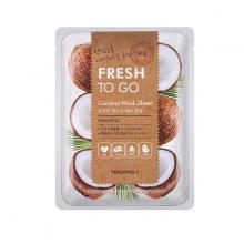 Mặt Nạ Miếng Dừa Giúp Dưỡng Ẩm Da - Tonymoly Fresh To Go Coconut Mask Sheet 22gram