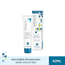 Kem dưỡng ẩm ban ngày cho da dầu Andalou Naturals Clear Skin Acai + Kombucha Oil-Free Moisturizer 62ml