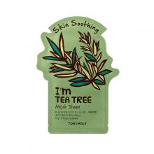 Mặt nạ miếng từ trà xanh giúp làm căng mịn da - Tonymoly I'm Tea Tree Mask Sheet 22gram