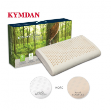 Gối cao su thiên nhiên Kymdan Pillow IYASHI 48 x 28 x 7 cm