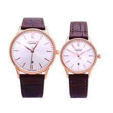 Đồng hồ cặp Julius Hàn Quốc limited JAL-042 JU1246 (nâu)