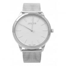 Đồng hồ nam Julius Hàn Quốc dây thép JA-982 (bạc)