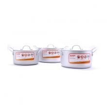Bộ nồi canh hợp kim nhôm oxy hóa mềm Supor Healthy 6 món TW08001