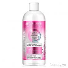 Nước tẩy trang dưỡng ẩm da dành cho da khô và nhạy cảm Facemed+ Eveline 400ml
