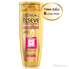 Dầu gội tinh dầu hoa tự nhiên LOreal Elseve Extraodinary Oil Shampoo 330ml