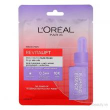 Mặt nạ giấy dưỡng chất cô đặc ẩm mượt da LOreal Revitalift ProYouth Face Mask Skin Plumping + AntiAging 30ml