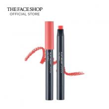 Son lì The Face Shop Flat Velvet Lipstick PK01